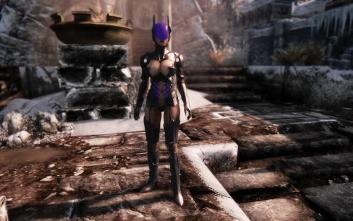 Screenshot for Tetsuya Nomura's Catwoman UNPB Armor