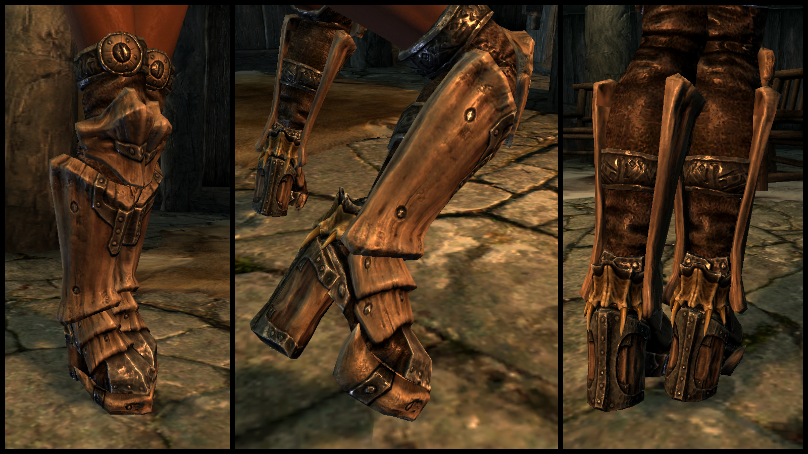 HDT High Heeled Boots for UNP by Kendo 2