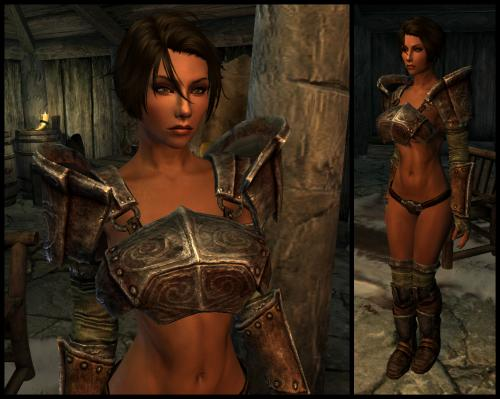 Screenshot for UNP JIGGLE Draugr Armor by Kendo 2