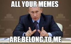 All Your Memes Are Belong To Me