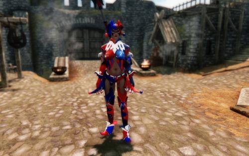 Screenshot for Tetsuya Nomura Harley Quinn UNPB Armor