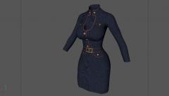 Skyrim Marine Outfit (WIP)