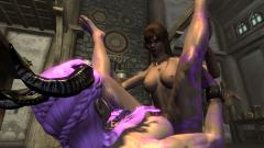 Modern Barbie takes Lisya's cock