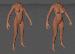 Unnamed Body Relpacer for OpenMW, Skyrim and Fallout 4