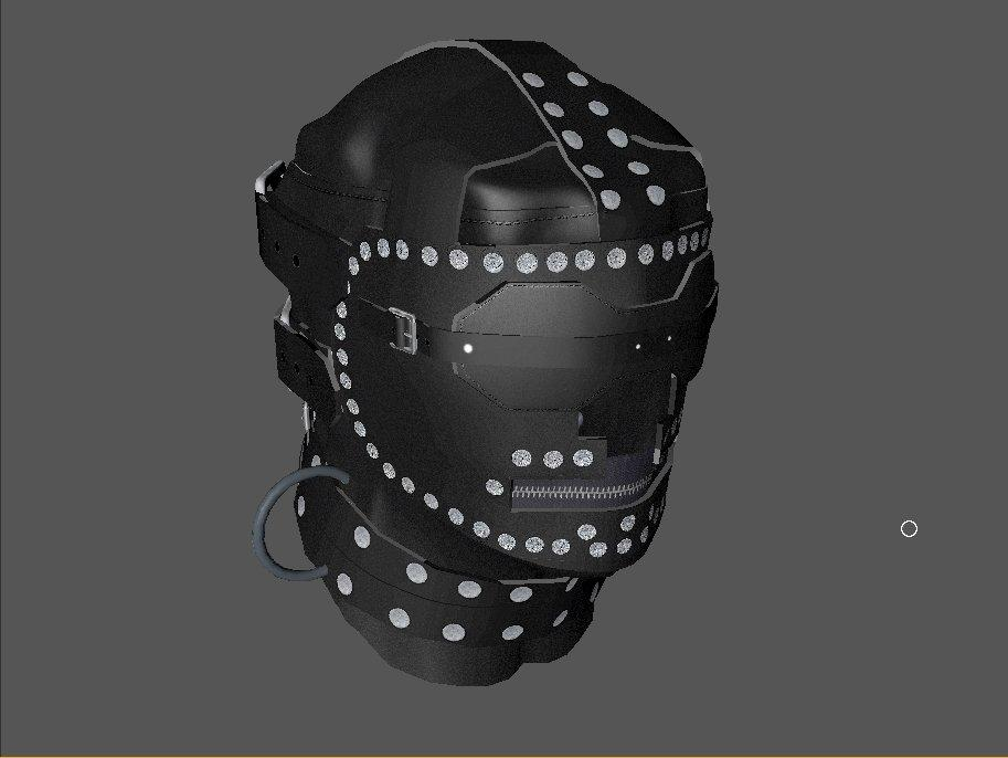DZ's Devious Devices Expansion: Very Cruel Leather Hood - Finishing Touches