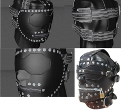 DZ's Devious Devices Expansion - Very Cruel Leather Hood