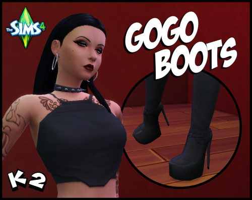 Screenshot for [Sims 4] Kendo 2's GoGo Boots