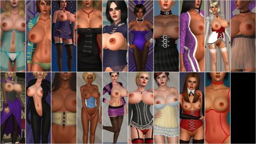 Screenshot for Revealing Clothing compilation by JoshQ