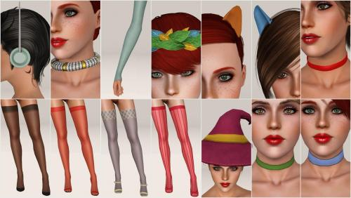 Screenshot for Misc Accessories Pack No.1
