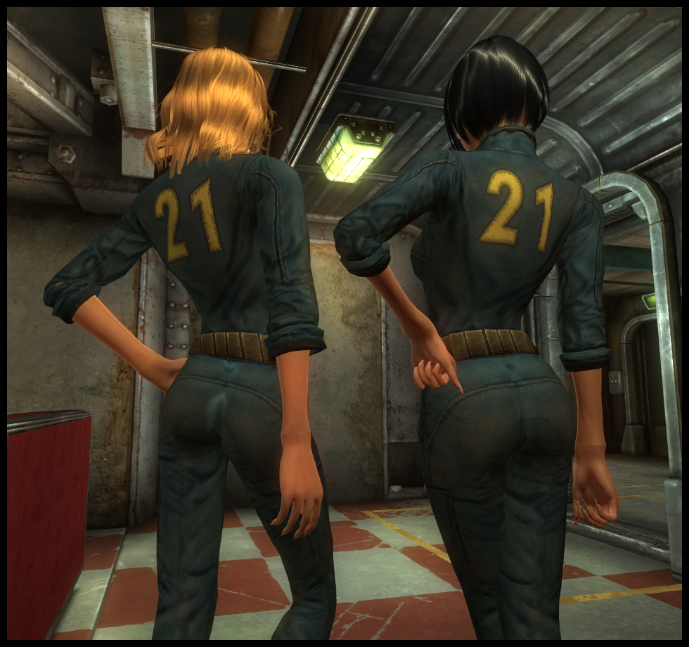 Sexy Vault Suits - Fallout 3: New Vegas - NSFWmods com