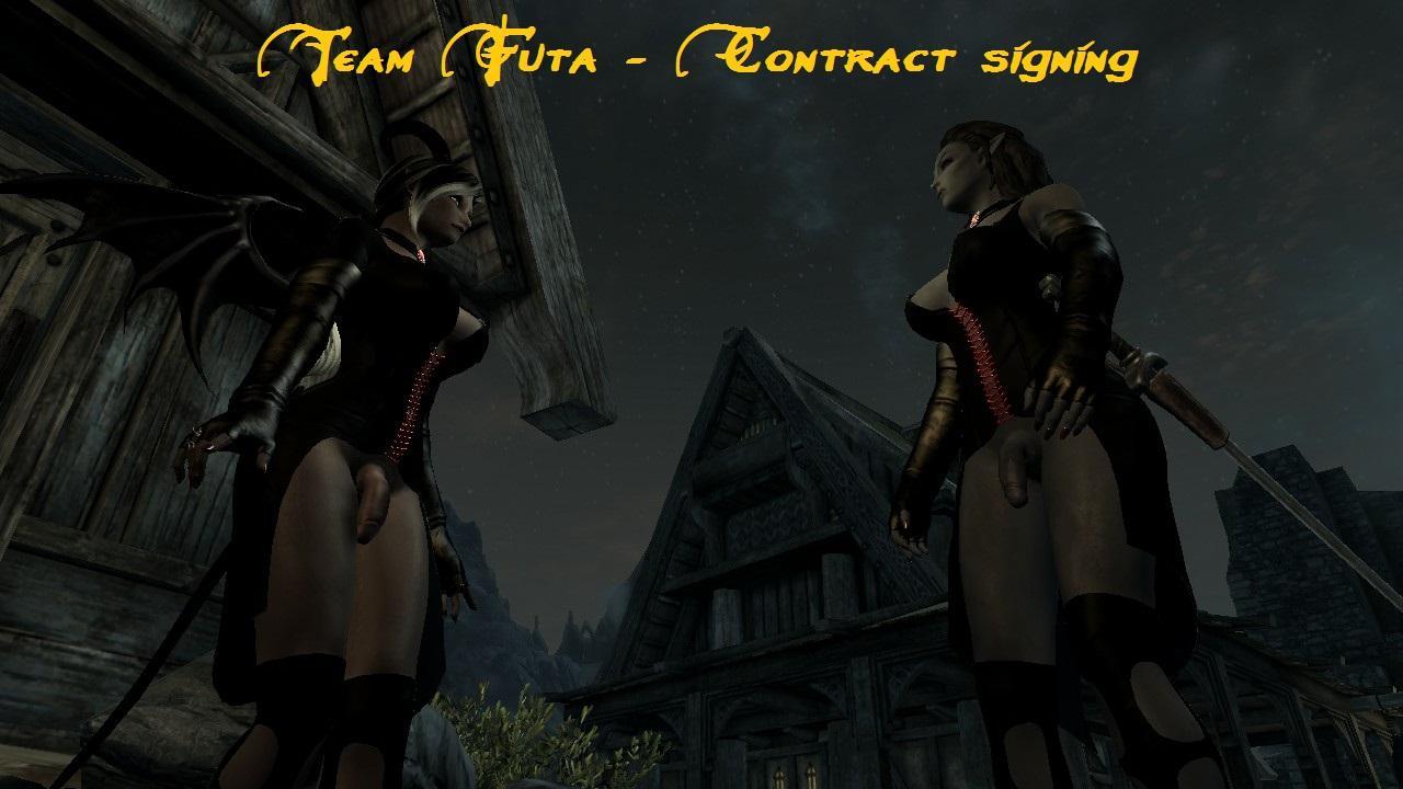 Team Futa - Contract signing