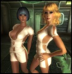 'Hospital Gowns'...sorta