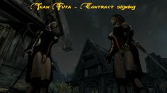 Team Futa - Contract signing