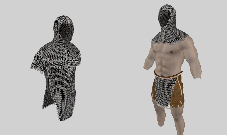 SAE: Male Chainmail Hoods