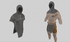 SAE: Male Chainmail Hoods