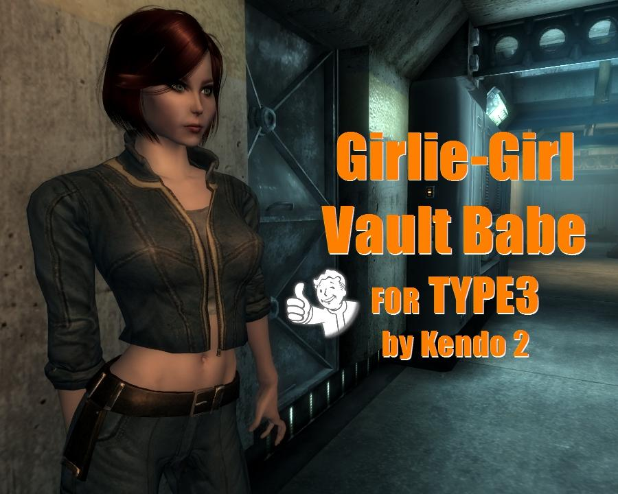 K2 Girlie Girl Vault Babe for Type3