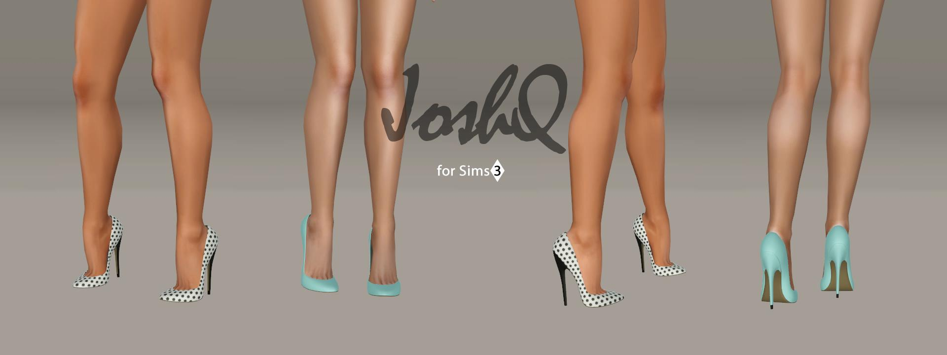 Asha Pumps, Impossible Heels EDIT