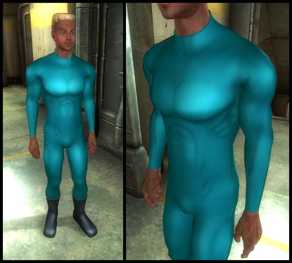 Male Space Suit