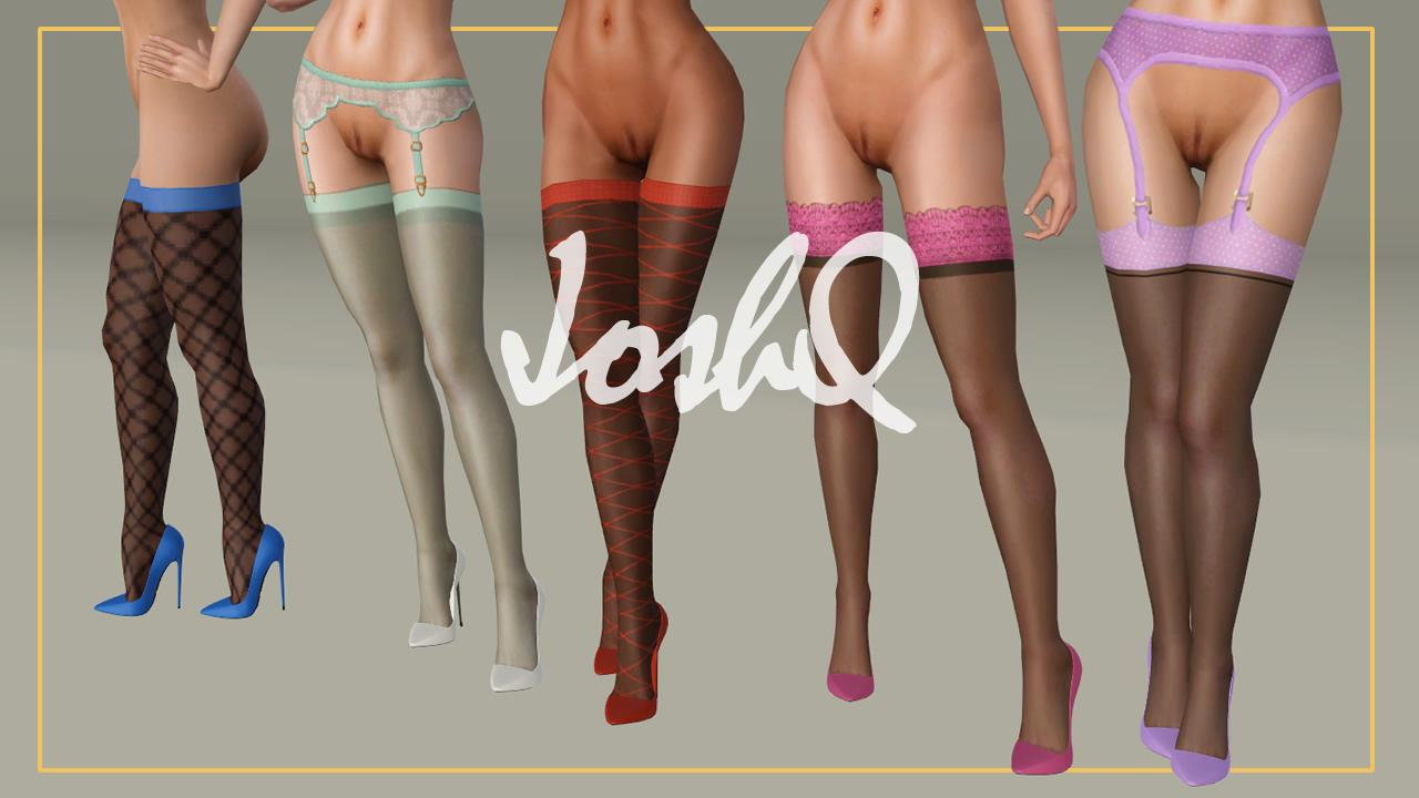 Accessory Stockings Set 'J'