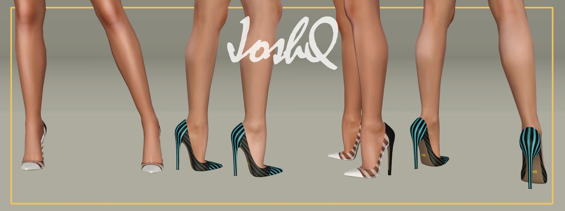 Impossible Heels 'Jessi' plus sheer version