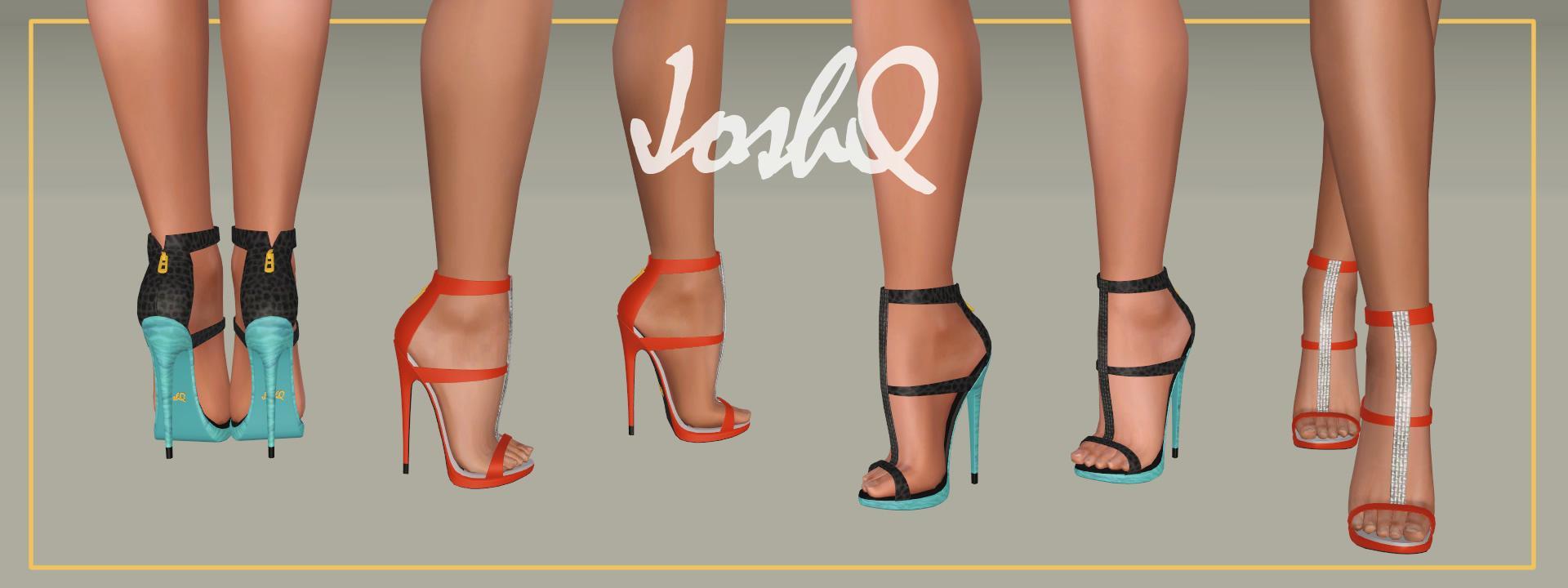 Impossible Heels 'Saskia'
