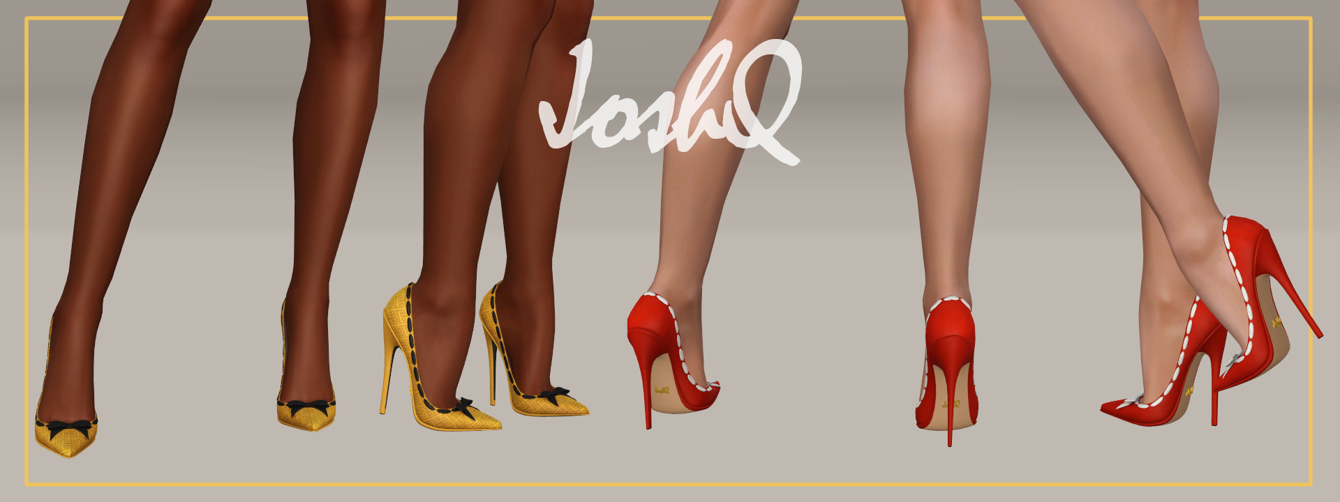 Impossible Heels 'Amber'