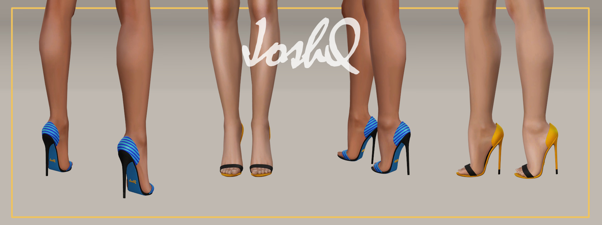 Impossible Heels 'Jenya'