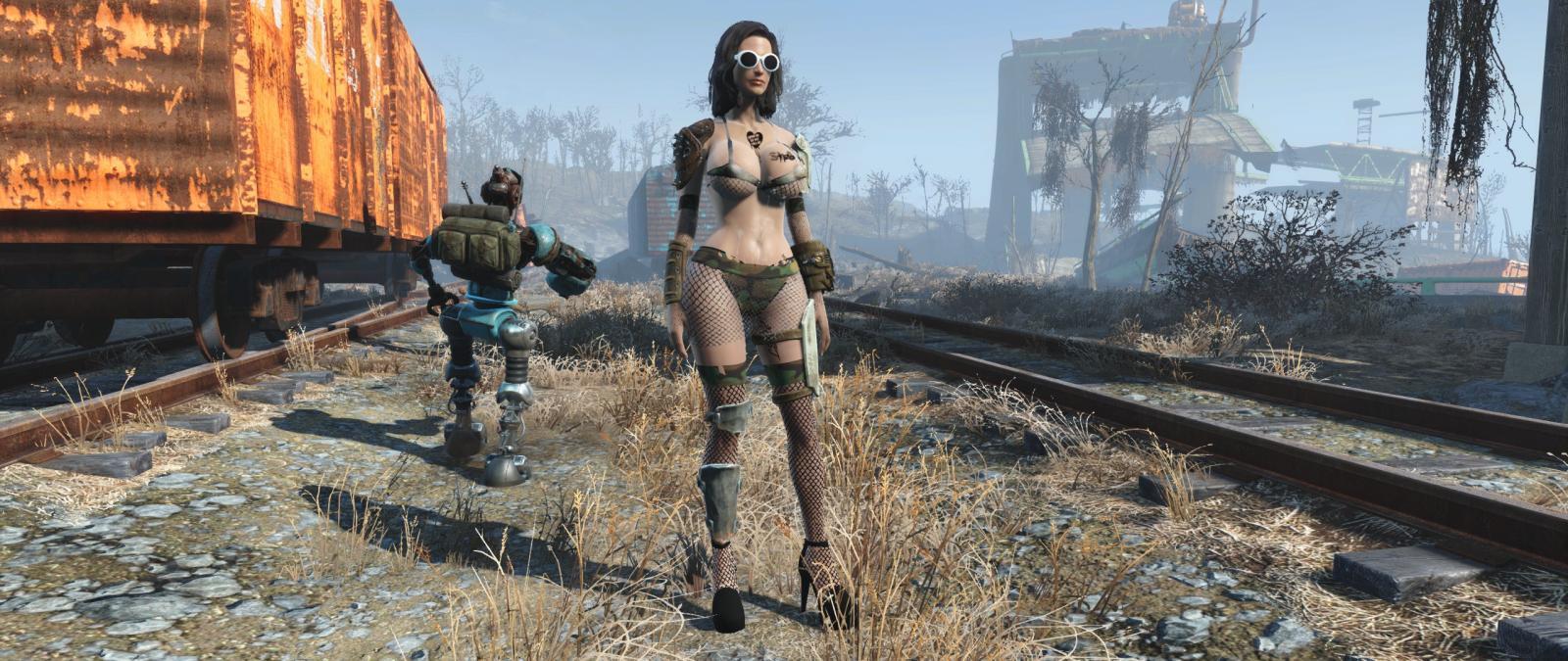 Fallout 4 Combat Lingerie