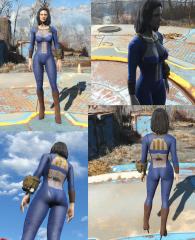 Experimental Vault Suit Design